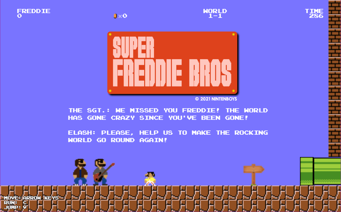 Super Freddie Bros